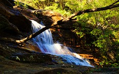 18/52 Splash (keikoellis) Tags: nature landscape outdoor bluemountains waterfalls bushwalking splash nswaustralia wentworthfalls 24105mm canon6d borderfx