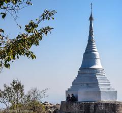 Silver stupa (JohannesLundberg) Tags: expedition silver couple burma stupa buddhism myanmar mm kayah theravada myanmarburma