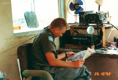 Quiet moment (Normann Photography) Tags: lebanon unitednations 1992 peacecorps lb peacekeepers 426 nabatieh unifil compactfilmcamera unitednationsinterimforceinlebanon fntjeneste kaoukaba unservice kontigent29