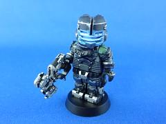 Dead Space 2 Security Suit (jeffer8419) Tags: dead lego space isaac plasma custom cutter clarke minifigure