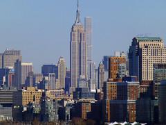 New York, NY Empire State Building (and 432 Park Avenue) (army.arch) Tags: nyc newyorkcity ny newyork skyscrapers empirestatebuilding