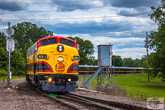 KCS Special Business Train at Kansas City, MO (Nanner Hogger) Tags: railroad train locomotive railfan railroading