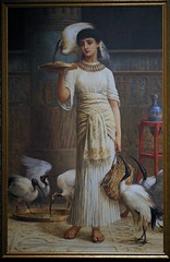woman-feeding-ibis (Internet & Digital) Tags: cats ancient god hawk victorian egypt ibis horus ritual mummy isis sacrifice osirus ancientegypt offerings mummified thoth mummifiedcats