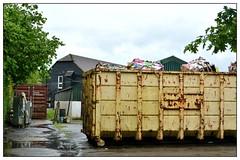 The Skip ... (junepurkiss) Tags: surrey litter rubbish milford skip recycling godalming secrettsfarmshop