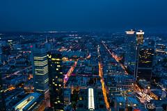 When The Night Comes (TGSnapshot) Tags: color skyline germany deutschland photography nikon fotografie frankfurt sigma bluehour farbe farbig frankfurtammain blauestunde 2015 d7100 1750mmf28 tillschröder