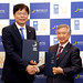 Cooperation agreement ceremony between UNDP and KwanseiGakuin University on 24 May 2016