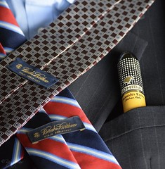 Dress For Success (myperspective1010) Tags: cigar cigars cohiba cuba habana ties brooksbrothers style fashion