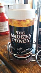 The Smokey Pokey Restaurant (Adventurer Dustin Holmes) Tags: food oklahoma sauce bbq sauces barbecuesauce bbqsauce 2016 smokeypokey barbecuesauces cowboytravelplaza hotlikegrandma