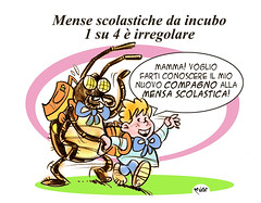 MenseAliene (Moise-Creativo Galattico) Tags: vignette satira scuola attualit moise giornalismo mense editoriali moiseditoriali editorialiafumetti