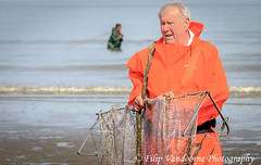 shrimp fisherman (filipmije) Tags: ocean sea portrait fisherman northsea