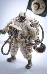 ThreeA 3A Ashley Wood Adventure Kartel Dead Astronaut Gangsta 1/6 scale action figure (ABKamleh) Tags: threea 3a ashleywood adventurekartel deadastronautgangsta 16scale actionfigure onesixthscale arttoys designertoys toyphotography space astronaut sciencefiction nikon d90 nikkor