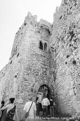 Erice (Lord Seth) Tags: 2015 d5000 erice lordseth sicilia bw biancoenero borgo castellodivenere italy medievale monteerice nikon