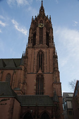 Kaiserdom St. Bartholomus (wuestenigel) Tags: germany de deutschland hessen cathedral frankfurt touristattraction frankfurtammain kaiserdom frankfurtcathedral touristdestination mainkai stbartholomus knigspfalzfrankfurt stbarthelomew