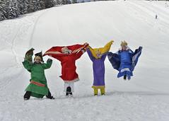 Sternsingen_Hinterstoder20 (Katholische Jungschar Österreichs) Tags: schnee sonne sternsingen sternsinger oesterreich oberoesterreich skifahrer hinterstoder ooe heiligedreikönige höss sternsingerin