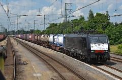04.07.2016 (II, slot); Op en neer naar Emmerich (chriswesterduin) Tags: v100 cargo trein emmerich rrf br189 kijfhoek distrirail