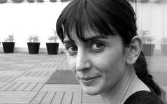 Damla (Ilker D) Tags: woman girl face look mujer outdoor femme brunette fille