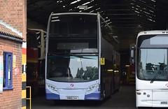 SN60 CAA (markkirk85) Tags: new bus buses great first 400 alexander dennis yarmouth eastern enviro counties trident caa 112010 sn60 sn60caa