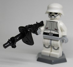 Imperial Anti-Riot Trooper with T21-R (enigmabadger) Tags: brickarms lego custom minifig minifigure fig weapon weapons accessory accessories combat war star wars imperial stormtrooper
