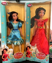 The Sisters are here! (Christo3furr) Tags: fashion store doll princess disney elena isabel latinx avalor