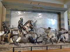 Diorama of Battle of Pavia 1525   Leeds Royal Armouries Museum (Barrytaxi) Tags: museum war outdoor photoblog photoaday 365