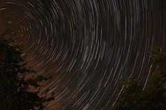 Star trail - less cloud (GAD72) Tags: star trail startrail night sky rotation