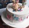 Valerie - Baby Shower Cake (PerfectionistConfectionist) Tags: babyshowercakedublin christeningcake babycake cakesdublin noveltycakemalahide celebrationcakedublin babyshowercupcakes