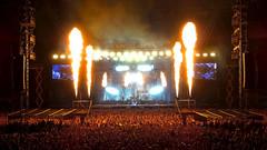 Rammstein (radimersky) Tags: rammstein worclaw stadion miejski capital rock noc city night concert music fire ogie tum crowd polska poland europe sony cybershot dschx60 compact camera stadium band zesp 27082016 explore