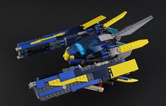 V-80 StarHawk (DeadGlitch71) Tags: lego space spaceship starship starfigter spacecraft fighter gun guns spaceexploreation gunship fins scoutfighter scout scifi pilot minifig minifigure foitsop
