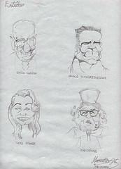 CHARGES - (Artemarcello - Criaes e Design -) Tags: charges chicocaruso arnolsschwarzegger verafischer chacrinha artemarcello desenhosalpisgrafite