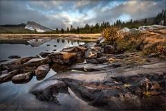 Tuolumne Fall (TomGrubbe) Tags: tuolumne tuolumnemeadows tuolumneriver autumn fall yosemite lembertdome rocks clouds california landscape