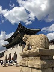 Gyeongbokgung Palace (apLmoiLeGros) Tags: coreedusud 2016 seoul gyeongbokgung palace