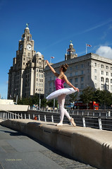 DSC06300 (liverpix) Tags: cleo dog performing anthonywalsh photowalk 500px liverpool pierhead liverbuilding ballerina ballet