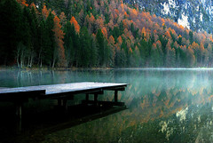Tristachersee (micebook) Tags: austria tourism nature lake water colour market fabric shop buildings sky trees hall
