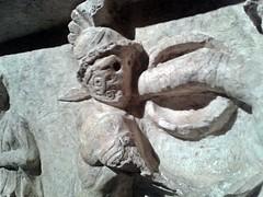 Porta Stabia Gladiator Relief (oomegamann) Tags: portastabia gladiator gladiateur gladiador eques murmillo thraex hoplomachus paegniarius
