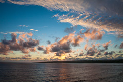 Sunset Sky Lahinch (ronlyn77) Tags: clare ireland lahinch wild atlantic way sunset