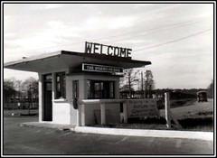 Main Gate at Toul Roserier, France - Steve Ringe (Sarge-Jack) Tags: dad2 rafbruntingthorpe rafalconbury france