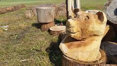 (Tylertello) Tags: woodwork chainsaw craft aomori japan