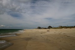 Madaket, Nantucket (flowerwine) Tags: ocean autumn sky seascape beach clouds sand surf quiet peaceful atlantic tranquil cottages 18200mm canon7d