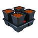 AW214V2 - 4 pot square large 18L © Nutriculture