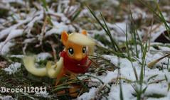 Snow in October (Drocell2011) Tags: apple jack pony hasbro mylittlepony applejack