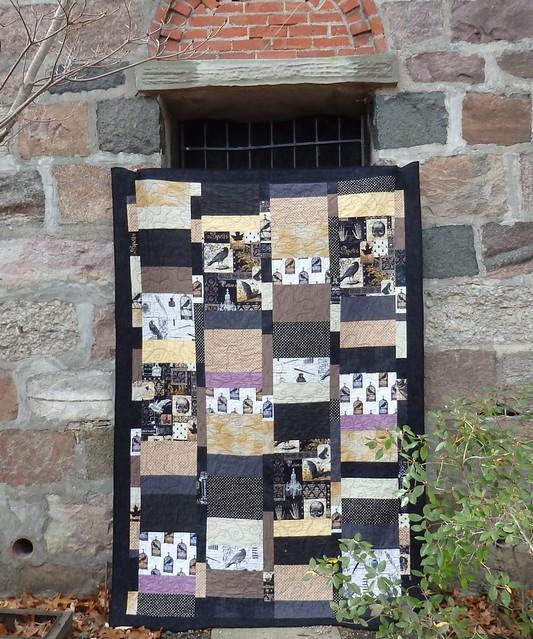 nevermore halloween quilt