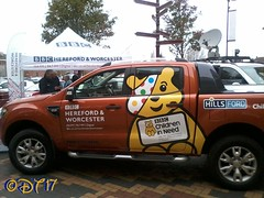 Pudsey Van (daleteague17) Tags: charity broadcast children outside bbc need hereford pudsey worcester childreninneed kidderminster bbcchildreninneed bbcherefordandworcester