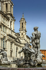 """Fontana del Moro, piazza Navona • <a style=""""font-size:0.8em;"""" href=""""http://www.flickr.com/photos/89679026@N00/15727887907/"""" target=""""_blank"""">View on Flickr</a>"""