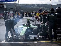 2014 Belgian GP: Tom Dillmann (8w6thgear) Tags: grandprix spa caterham gp pitlane 2014 spafrancorchamps gp2 dallara belgiangp belgiangrandprix gp211 mecachrome