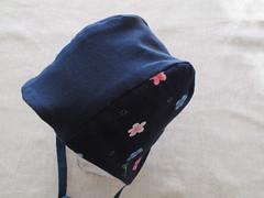 baby girl bonnet. babushka. (190.arch (aka bymamma190)) Tags: baby girl hat handmade sewing hood bonnet babushka bymamma190