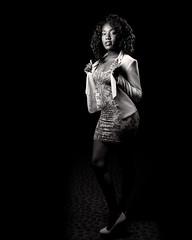 Latrese White Lapels (TNrick) Tags: ohio portrait cincinnati flash actress lowkey topaz rapidbox yn560