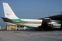 N64696 Boeing 720-022 (Irish251) Tags: usa airport florida miami cargo mia fl 1992 boeing 720 kmia 720022 n64696