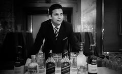 The Bartender (Manogna Reddy) Tags: portrait india bar taj portraiture hyderabad bartender