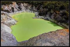 Devil's Bath (J-o-h-n---E) Tags: travel newzealand holiday pool colours lime volcanic geothermal waiotapu newzealandnorthisland devilsbath awps geothermalwonderland aperturewoolwich