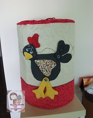 Coc....capa de galo.... (Ma Ma Marie Artcountry) Tags: country patchwork cozinha cocs capadegalo